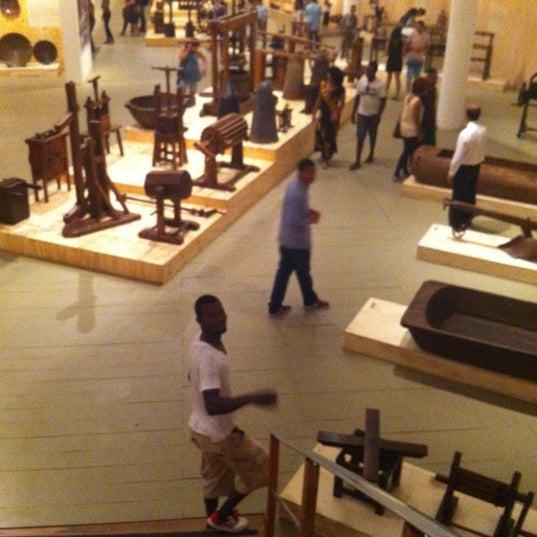 Foto tirada no(a) Museu Afrobrasil por Natasha em 11/20/2012
