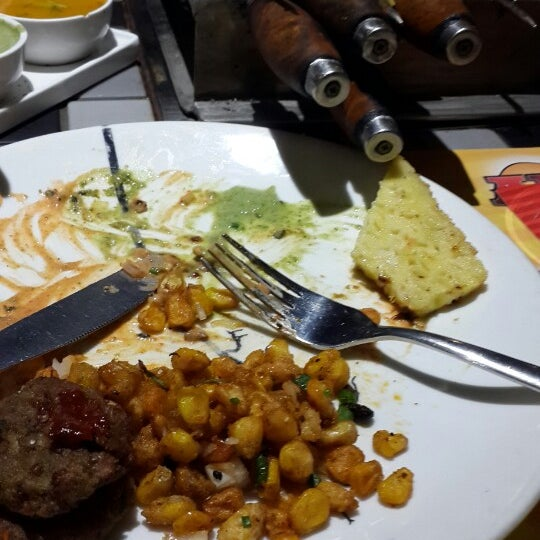 Photo taken at Absolute Barbecues (ABs) by Srikanth P. on 10/27/2014