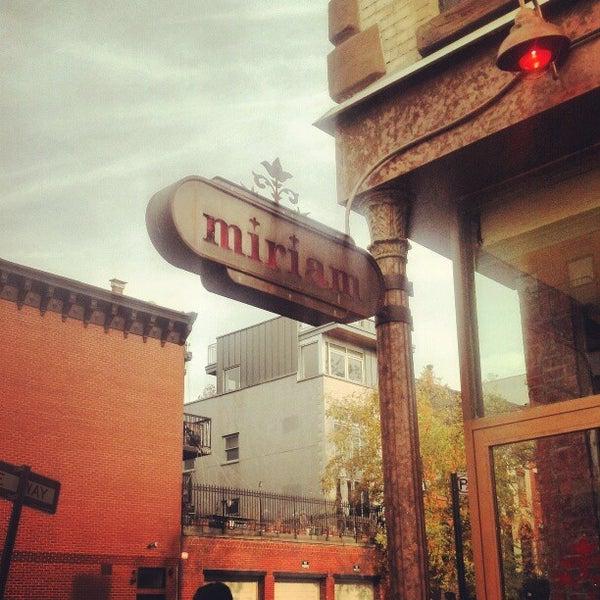 Photo taken at Miriam by Juan P. on 11/18/2012