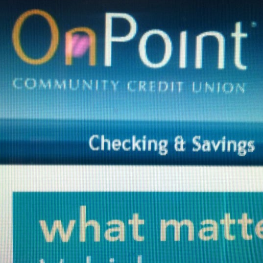 Onpoint Community Credit Union Credit Union