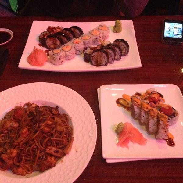 Photo taken at Sushi On The Rocks by Alyona Z. on 12/8/2013