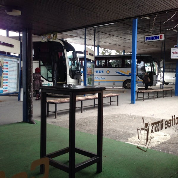 Photo taken at Autobusna stanica by 🍁🍁Yavuz🍁🍁 on 2/9/2014
