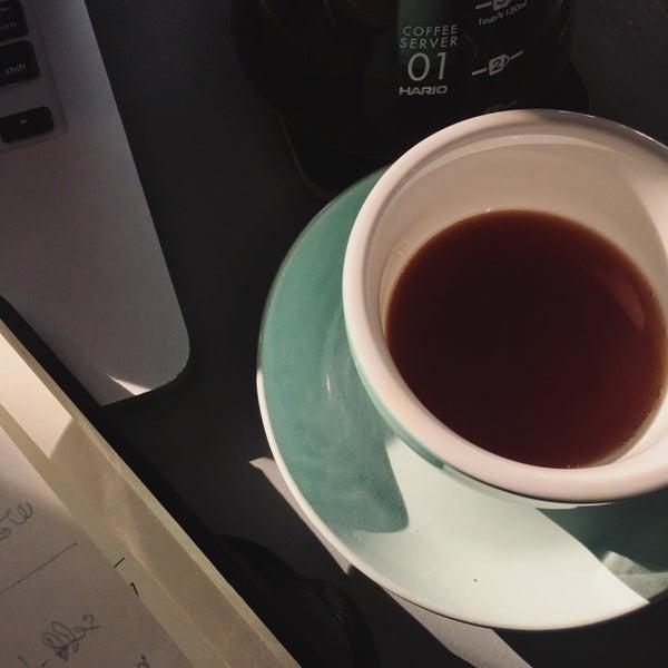Снимок сделан в First Point Espresso Bar пользователем Anvar A. 5/14/2017