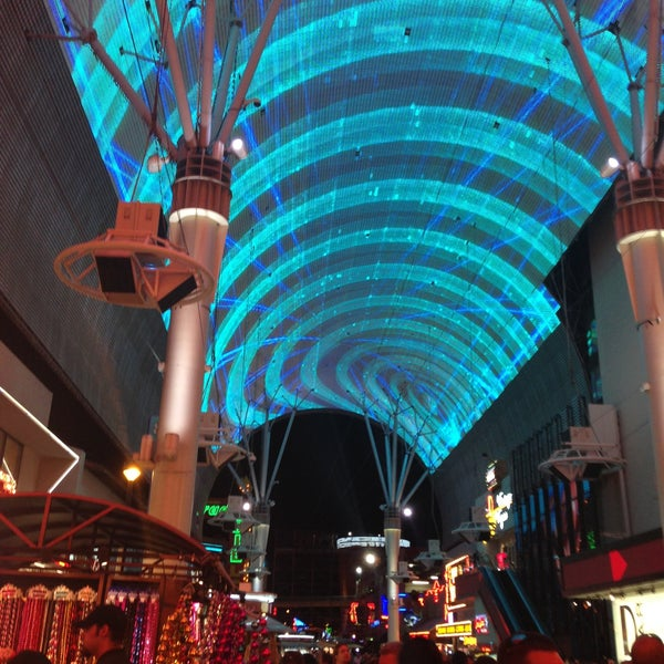 Photo taken at Fremont Street Experience by Daniel R. on 4/13/2013
