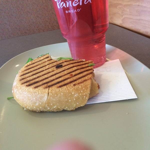 Photo taken at Panera Bread by Stevie L. on 5/5/2014