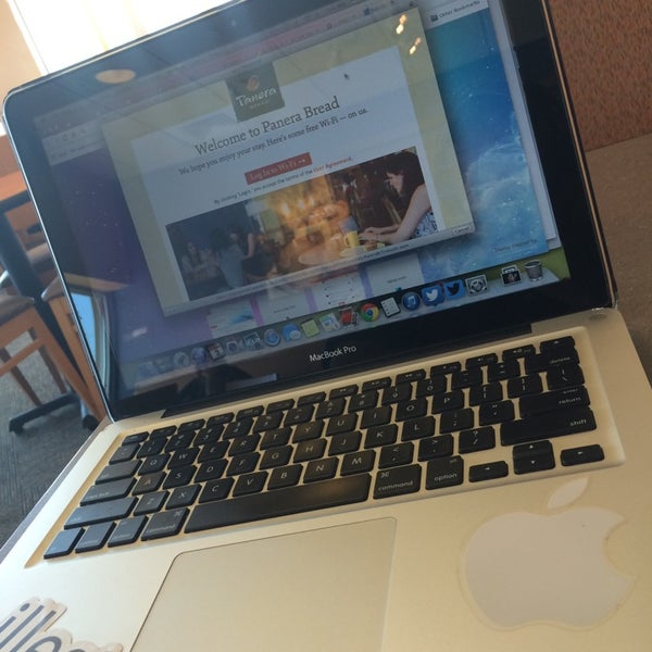 Photo taken at Panera Bread by Stevie L. on 4/3/2014