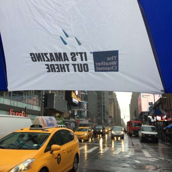 the weather channel nyc - theater district