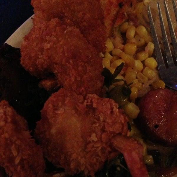 Photo taken at The Original Benjamin's Calabash Seafood by Karen L. on 3/2/2013