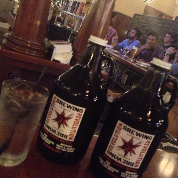 Photo taken at Revolution Brewing by Nicolas H. on 6/21/2013
