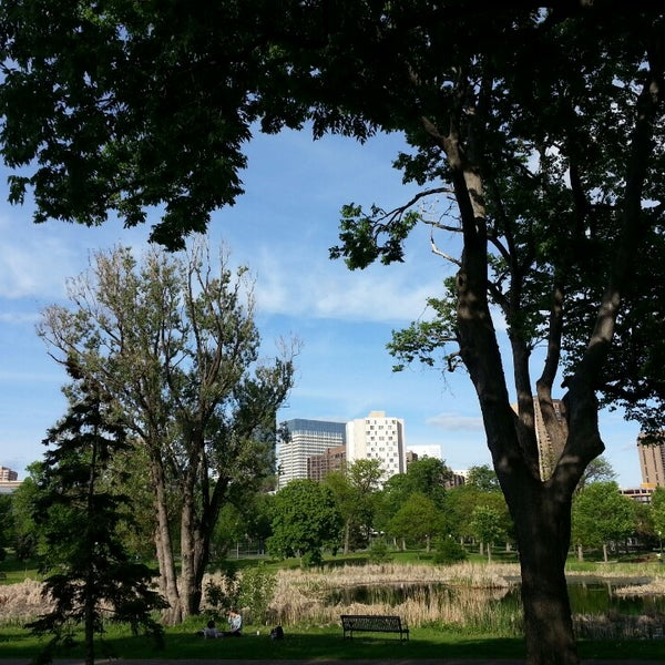 Photo taken at Loring Park by O K. on 6/2/2013