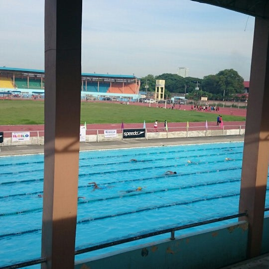 Photo taken at Iloilo Sports Complex by Dan G. on 6/6/2014