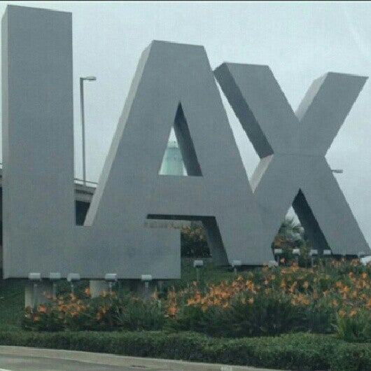 Photo taken at Los Angeles International Airport (LAX) by Ola O. on 12/1/2012