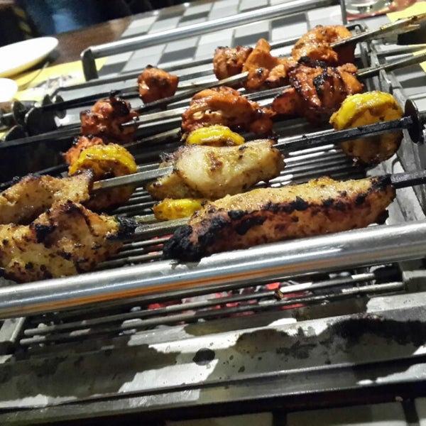Photo taken at Absolute Barbecues (ABs) by Vishnu Priya V. on 6/22/2014
