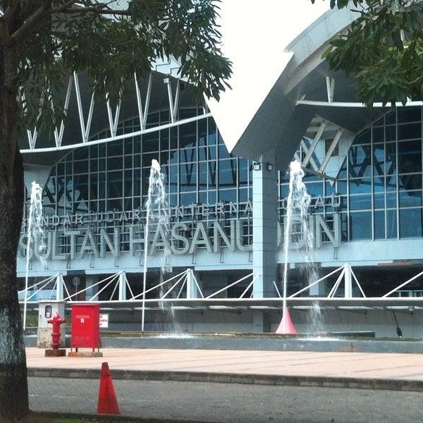 Photo taken at Sultan Hasanuddin International Airport (UPG) by Alvaro S. on 4/28/2013