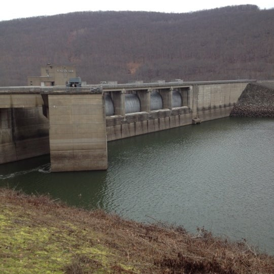 Photo taken at Kinzua Dam by Perry on 12/20/2012