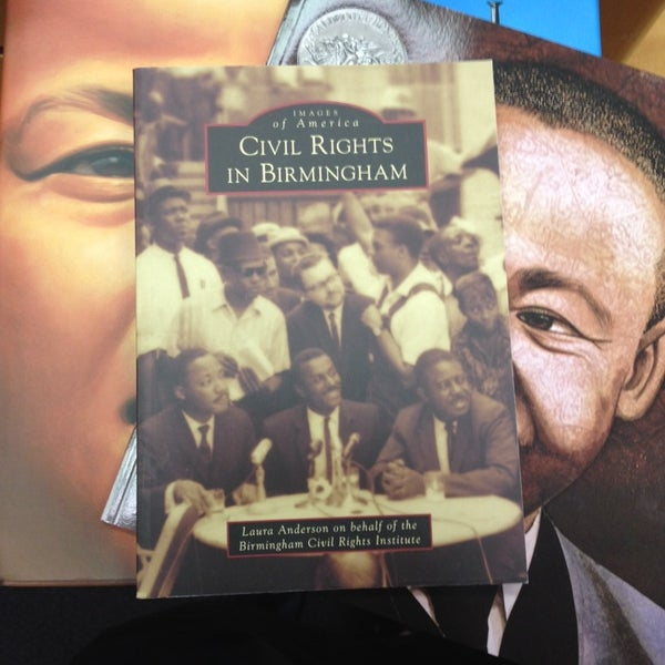 Photo taken at Birmingham Civil Rights Institute by Haley Vay P. on 8/19/2014