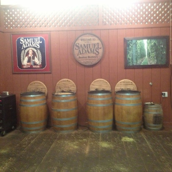 Photo taken at Samuel Adams Brewery by Mona C. on 1/10/2013