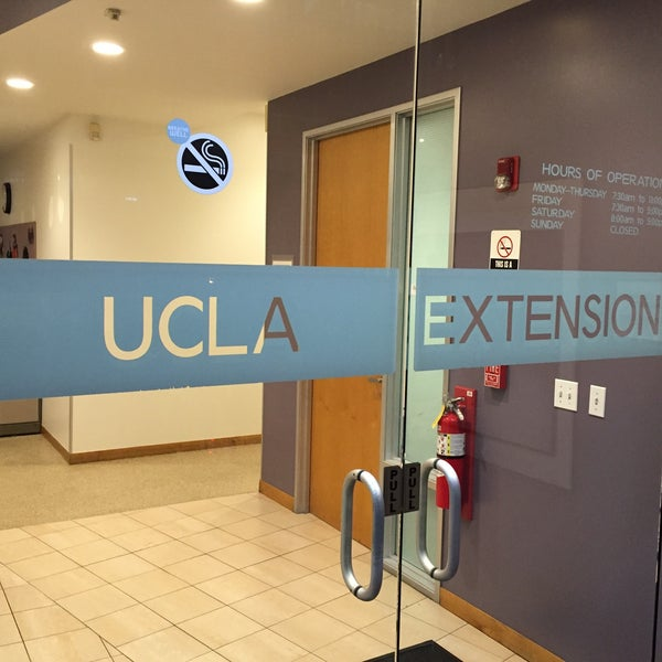 Photo Taken At UCLA Extension Facility   Lindbrook Center By Erik D. On 10/