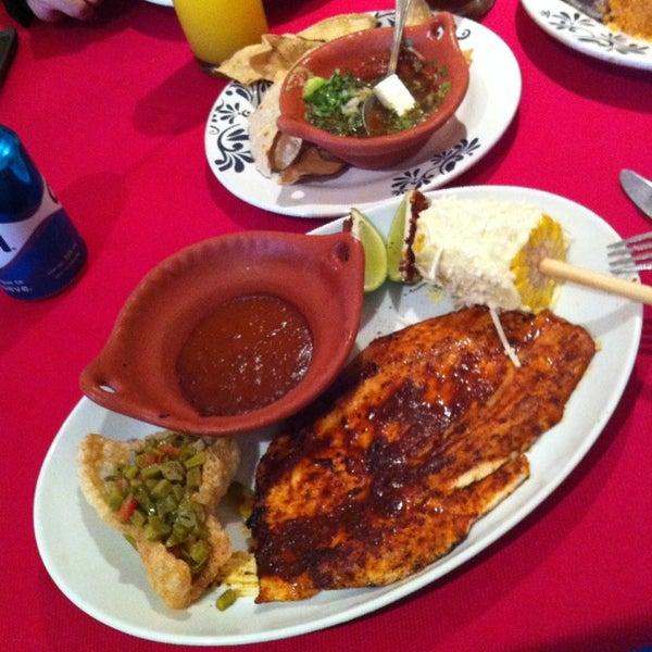 Photo taken at Fonda Mexicana by Alina J. on 11/8/2014