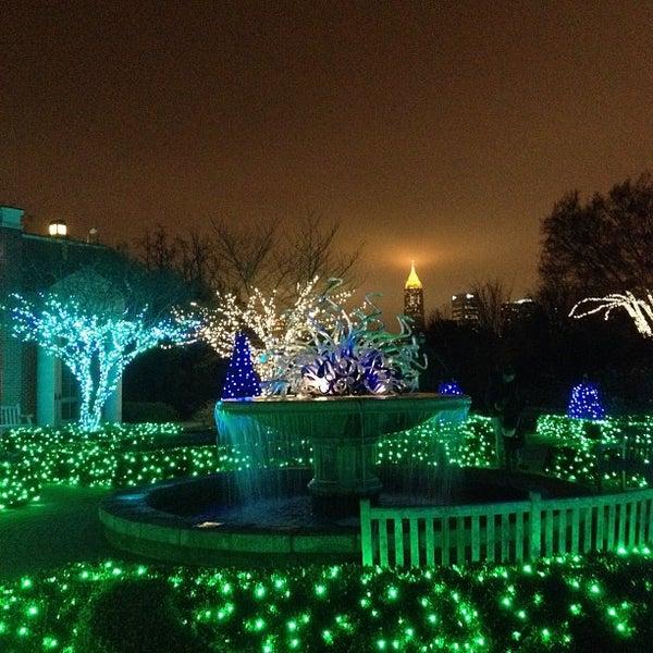 Photo taken at Atlanta Botanical Garden by James L. on 11/28/2012