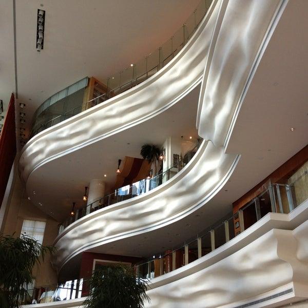 Photo taken at Shangri-La Hotel by Lisa P. on 2/5/2013