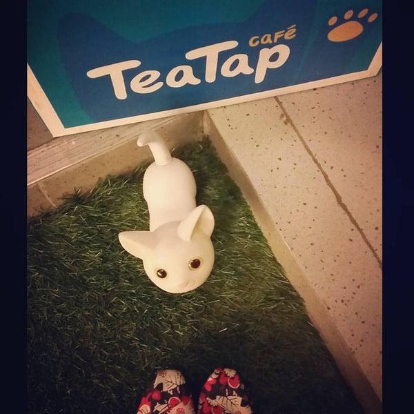12/26/2015 tarihinde Jan V.ziyaretçi tarafından TeaTap Cafe'de çekilen fotoğraf