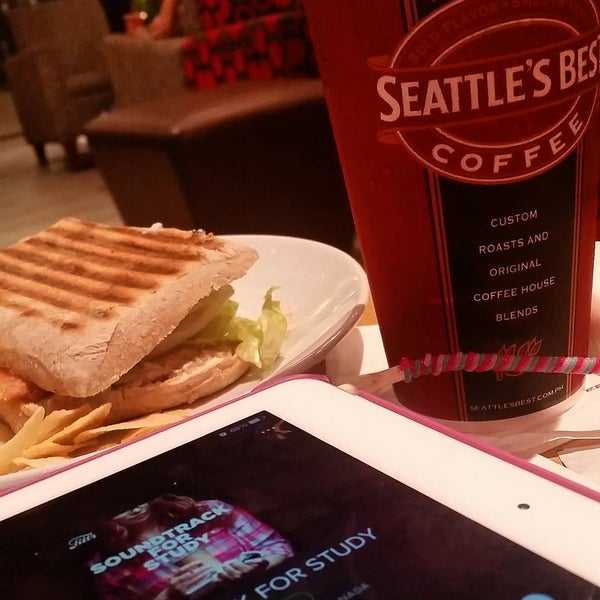 Photo taken at Seattle's Best Coffee by Jan V. on 8/25/2015