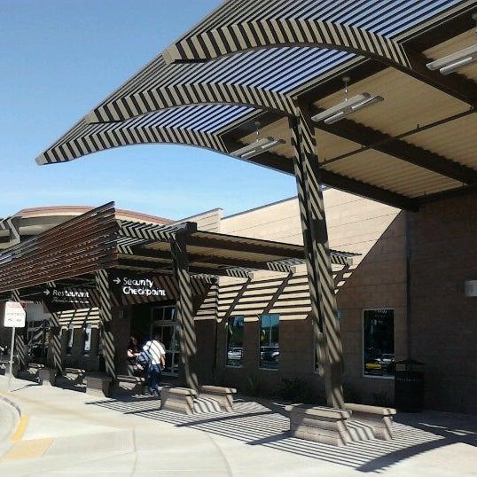 Photo taken at Phoenix-Mesa Gateway Airport (AZA) by Leona P. on 10/28/2012
