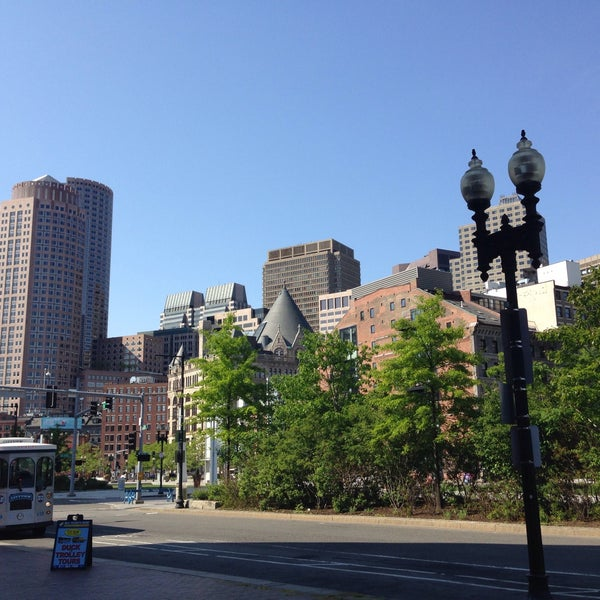 Photo taken at Old Town Trolley Tours of Boston by Ame B. on 5/24/2015