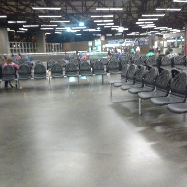 Photo taken at Terminal Rodoviário José Garcia Villar by Paulo V. on 7/6/2013