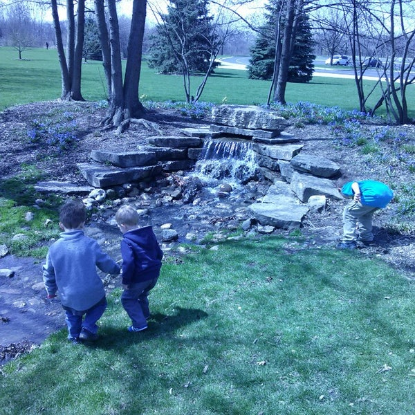 Photo taken at Cantigny Park by Robert M. on 4/27/2013