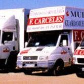 Flota de vehículos Mudanzas F. Cárceles.