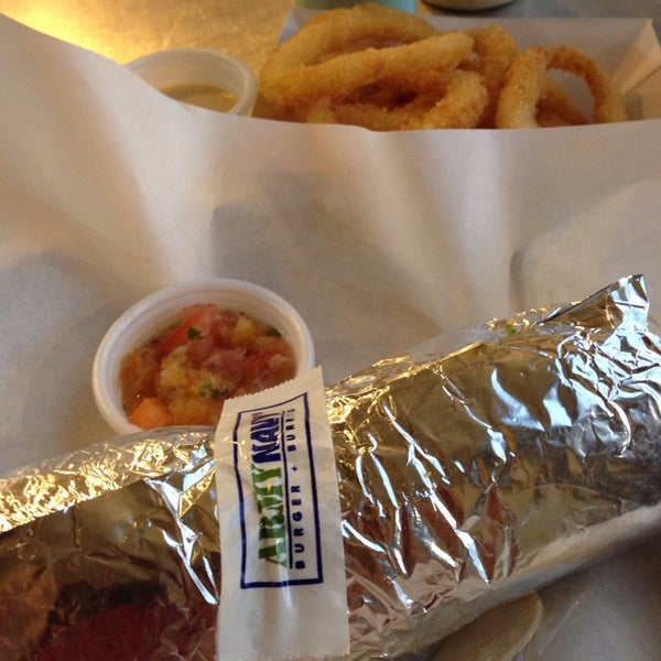 Photo taken at Army Navy Burger + Burrito by Noni M. on 5/7/2014