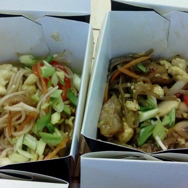 Снимок сделан в Woka Asia Food пользователем Svitlana P. 1/7/2015