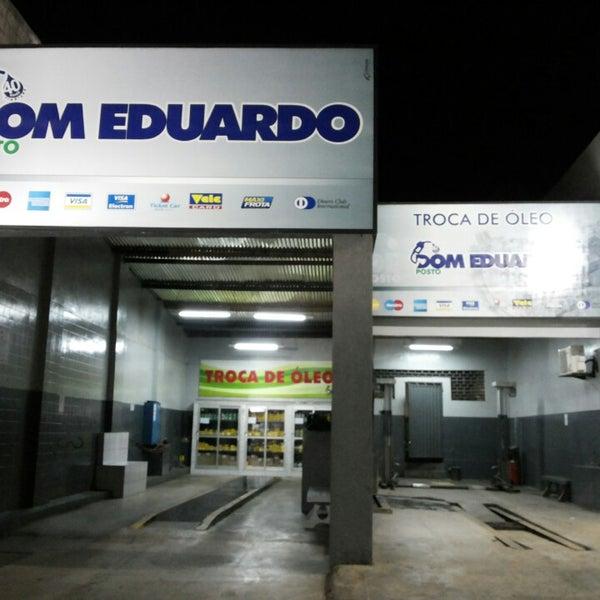 Foto tirada no(a) Posto Dom Eduardo I por Breno M. em 4/12/2014