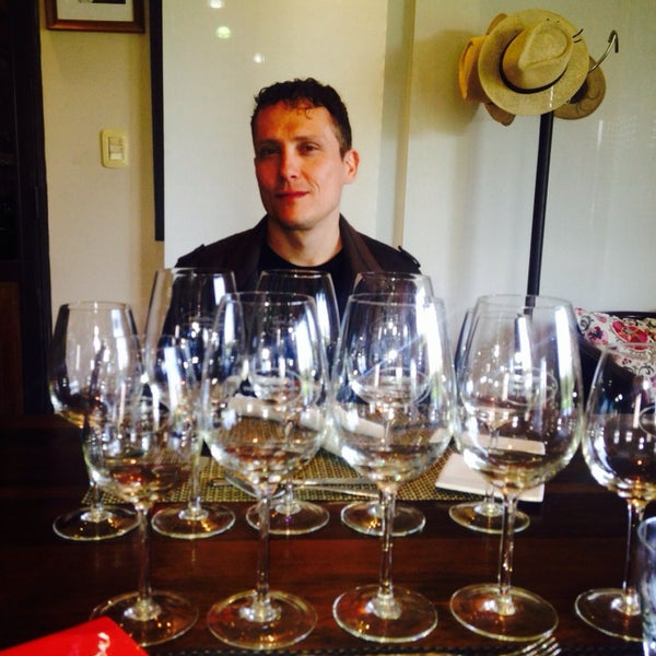 Photo taken at Dominio del Plata Winery by Michael P. on 4/3/2014