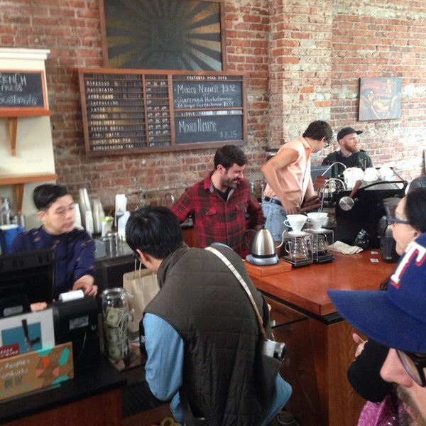 Photo taken at Victrola Cafe and Roastery by Jimmy S. on 4/24/2014