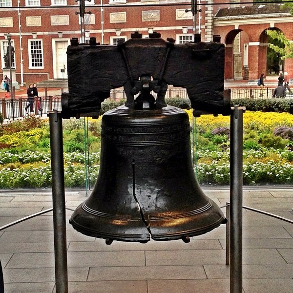 Photo taken at Liberty Bell Center by Aaron G. on 10/8/2012