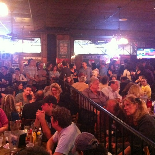 Photo taken at Manuel's Tavern by Ava F. on 10/4/2012