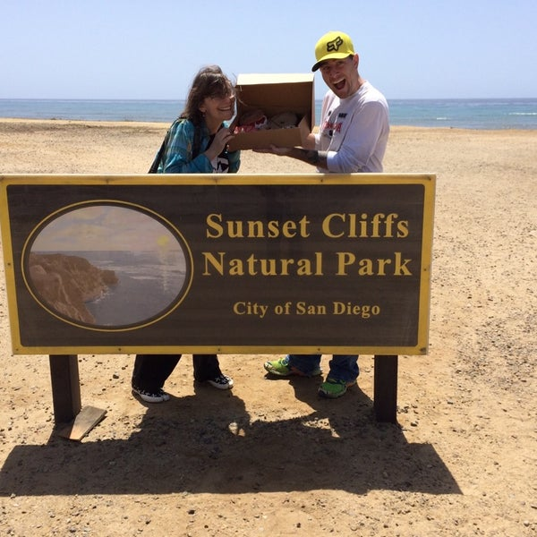 Foto tirada no(a) Sunset Cliffs Natural Park por Jessica A. em 5/11/2014