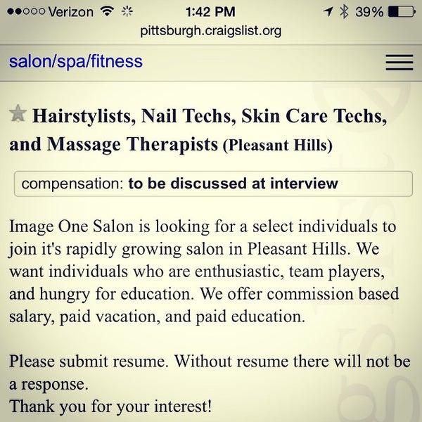 Craigslist pittsburgh massage