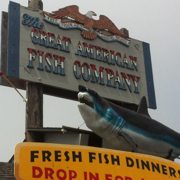 Great american fish company american restaurant for American fish company