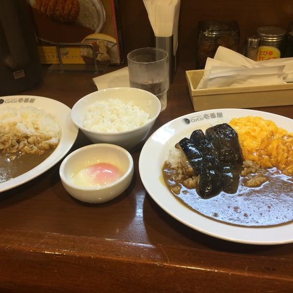 Photo taken at CoCo Ichibanya by リンちゃん s. on 9/13/2016