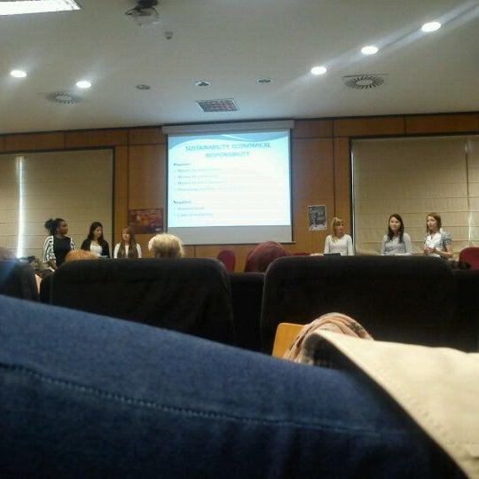 Photo taken at Universitat Jaume I (UJI) by Anaïs Monserrat P. on 3/29/2012