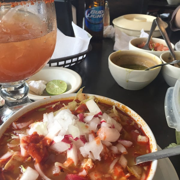 Photo taken at Pozole y Tacos Regios by Citlally H. on 10/10/2015