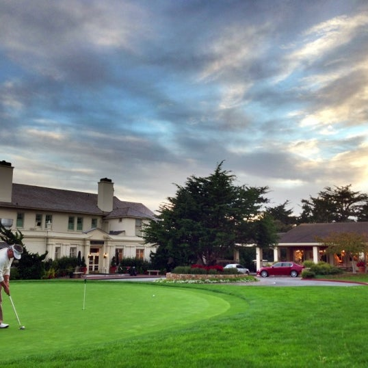 Photo taken at The Lodge at Pebble Beach by William L. on 12/9/2012