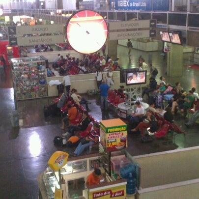 Photo taken at Terminal Rodoviário Governador Israel Pinheiro by Manoel assad E. on 10/5/2012