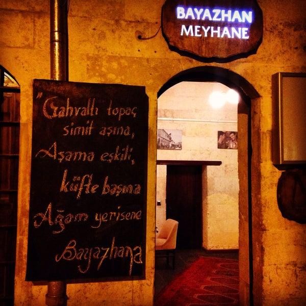 Photo taken at Bayazhan Meyhane by Kürşat on 4/16/2015
