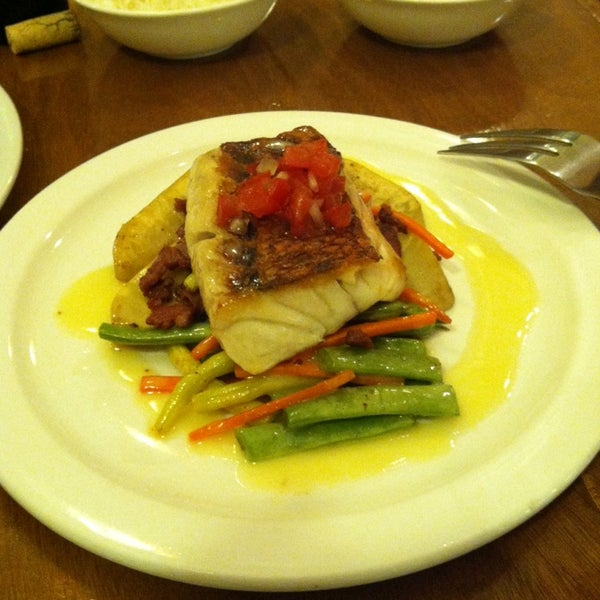 Menu is always changing. Daily fish specials are always a good move.