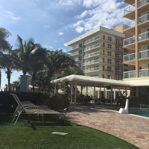 Das Foto wurde bei Marriott Pompano Resort and Spa von The Adventures of B. am 1/1/2018 aufgenommen